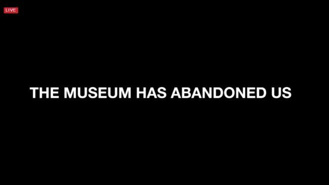 Museum of the Moving Image entfernt Shia LaBeoufs Installation He Will Not Divide Us… Zur SicherheitFor