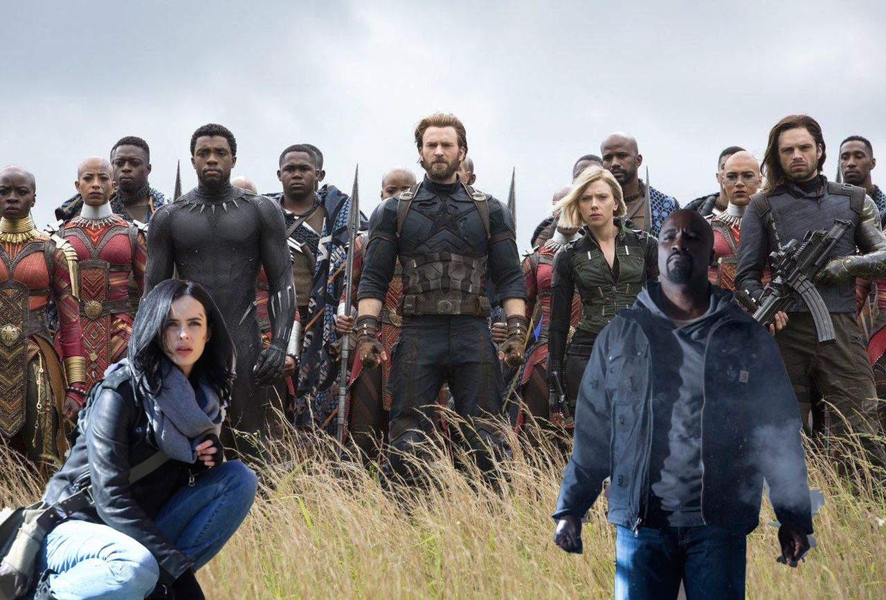 Jada, Avengers: Infinity War Is Overstuffed, but Still a Missed Opportunity for a Netflix Crossover