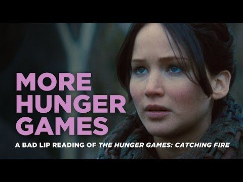 The Hunger Games: Catching Fire Bad Lip Reading roep die basiese seuns uit