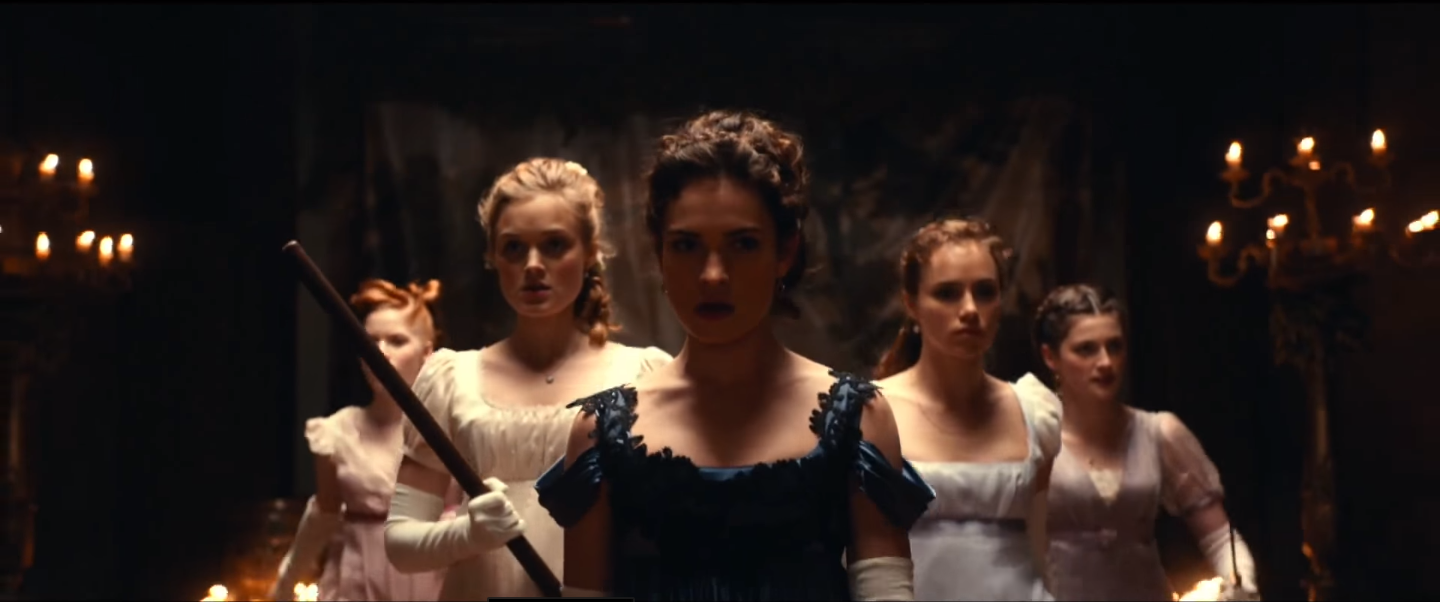 Elizabeth Won't Trade a Sword for a Ring in the Pride and Prejudice and Zombies Trailer